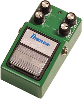 La TS9 DX - Tube Screamer Turbo - de chez Ibanez
