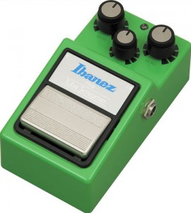 La TS9 d'Ibanez Tube Screamer