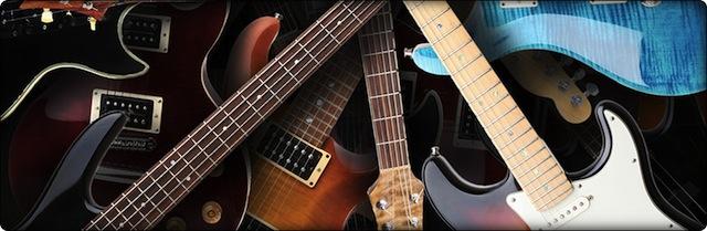 Allez dans les magasins de musique pour essayer les guitares !