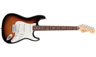Une guitare pour droitier