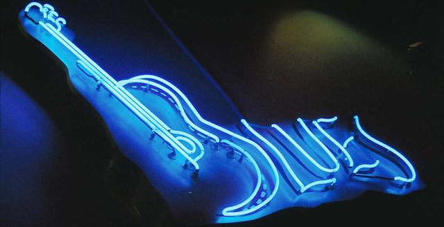Les grilles de blues à la guitare