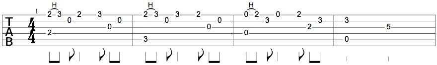 Intro à la guitare de Libérée, Délivrée (partie 1)