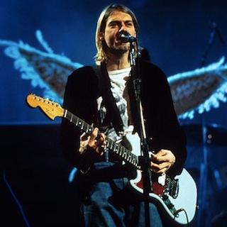 Kurt Cobain jouait sur une Fender Mustang pou gaucher