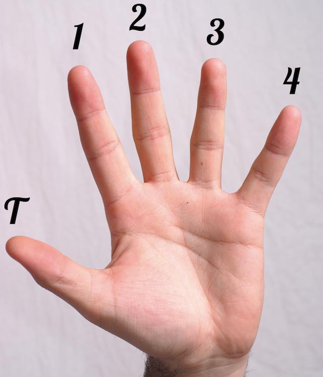 La notation des doigts pour les diagrammes